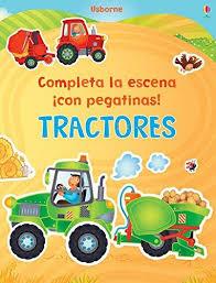 TRACTORES - COMPLETA LA ESCENA CON PEGATINAS