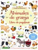 ANIMALES DE GRANJA - LIBRO DE PEGATINAS