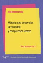 METODO PARA DESARROLLAR LA VELOCIDAD Y COMPRENSION LECTORA 3
