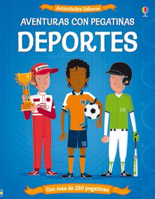 DEPORTES. AVENTURAS CON PEGATINAS