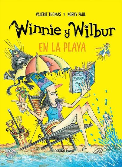 WINNIE Y WILBUR EN LA PLAYA