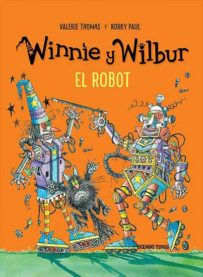 WINNIE Y WILBUR. EL ROBOT