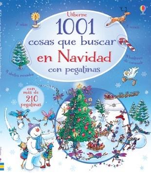 1001 COSAS QUE BUSCAR EN NAVIDAD CON PEGATINAS