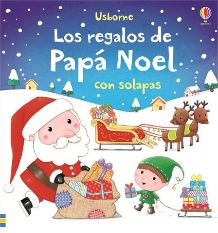 LOS REGALOS DE PAPA NOEL. CON SOLAPAS