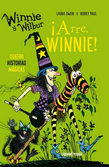 WINNIE Y WILBUR. ARRE WINNIE! CUATRO HISTORIAS MAGICAS - RUSTICA