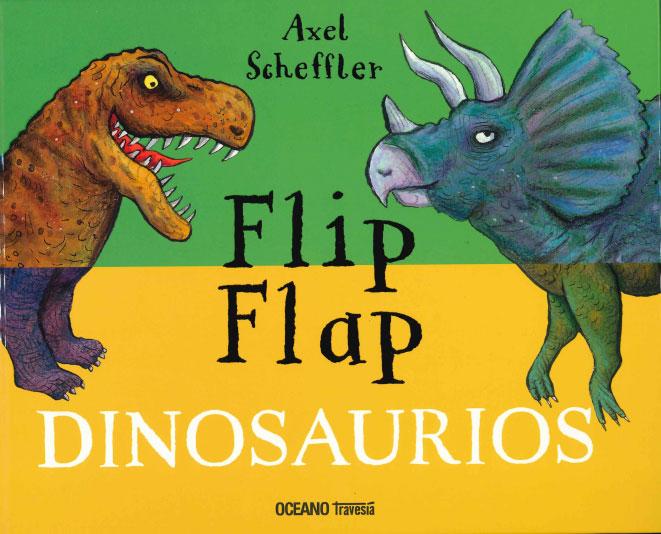 FLIP FLAP. DINOSAURIOS