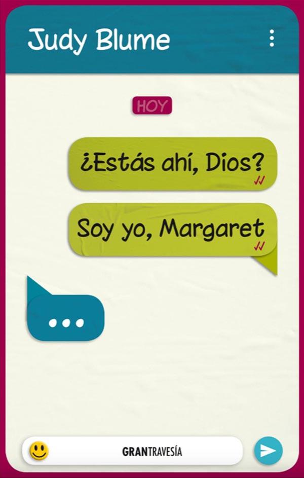ESTAS AHI, DIOS? SOY YO, MARGARET