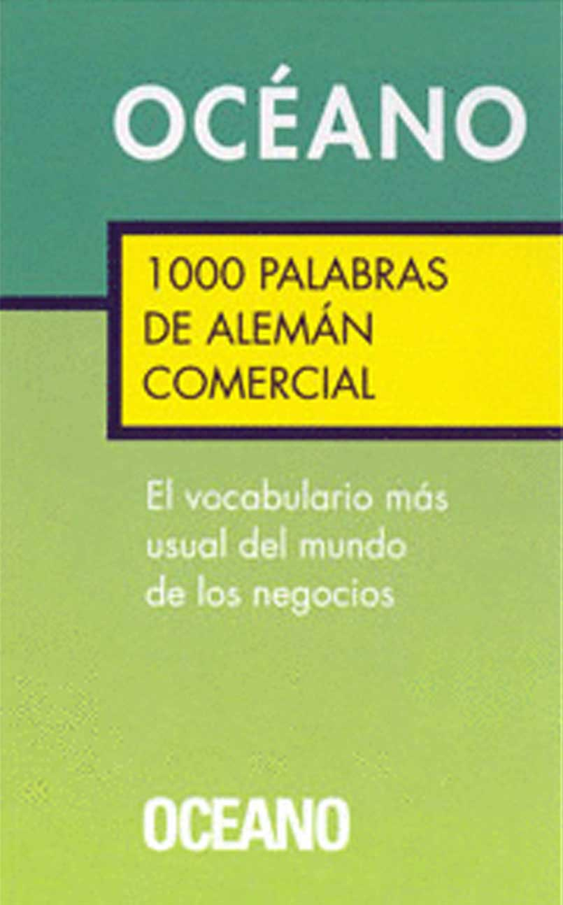 1000 PALABRAS DE ALEMAN COMERCIAL