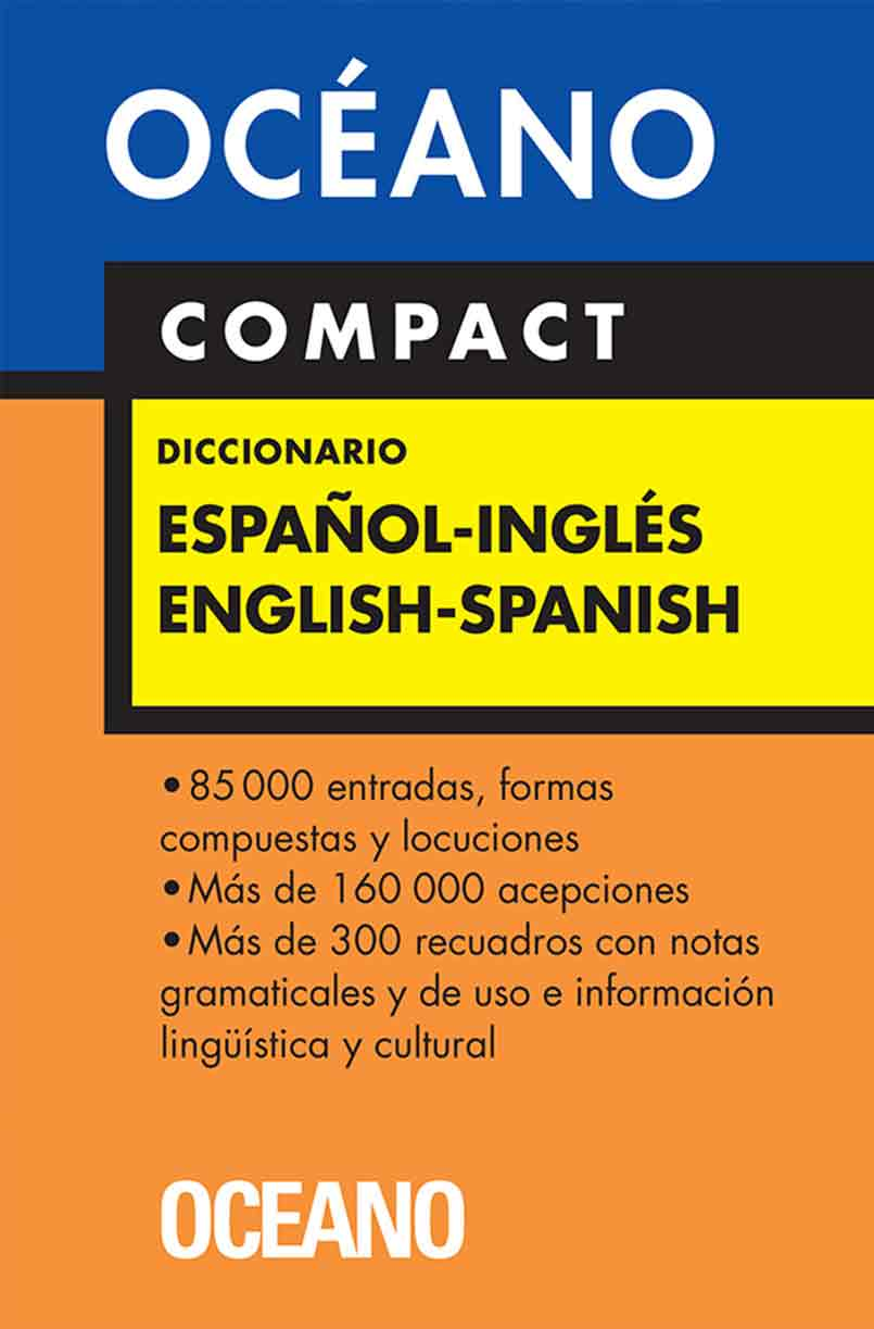 DICCIONARIO OCEANO ESPAÑOL-INGLES COMPACT