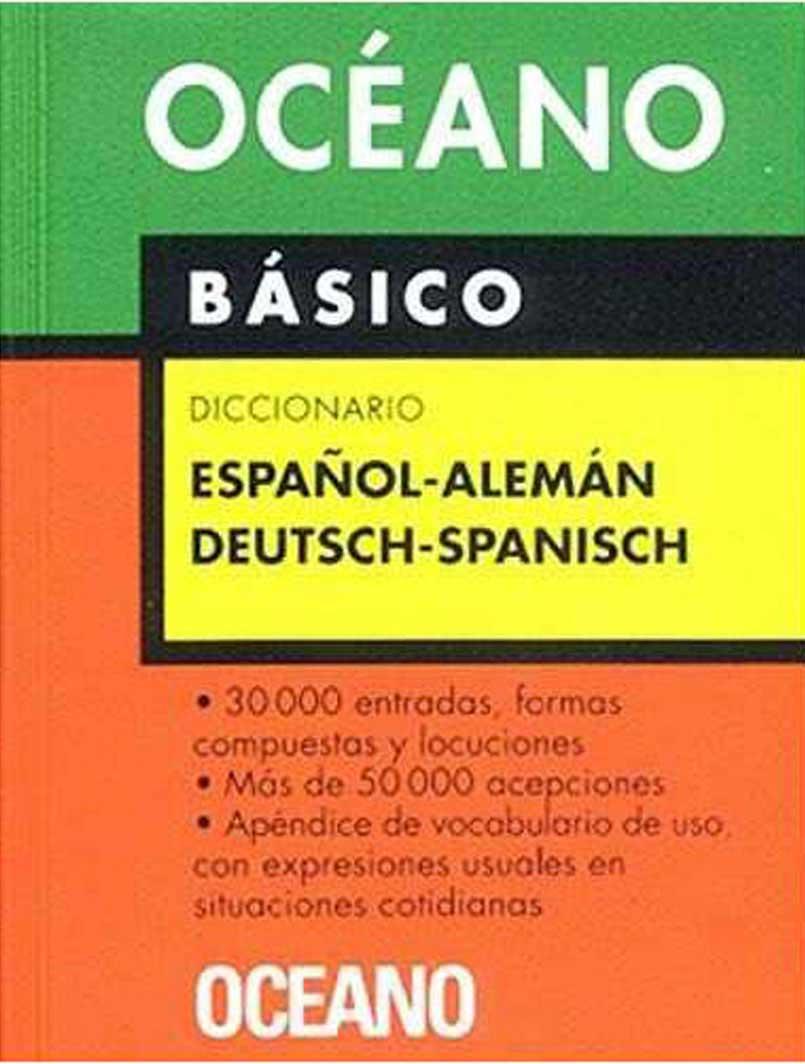 DICCIONARIO OCEANO ALEMAN-ESPAÑOL BASICO