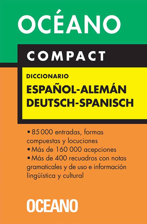 DICCIONARIO OCEANO ALEMAN-ESPAÑOL COMPACT