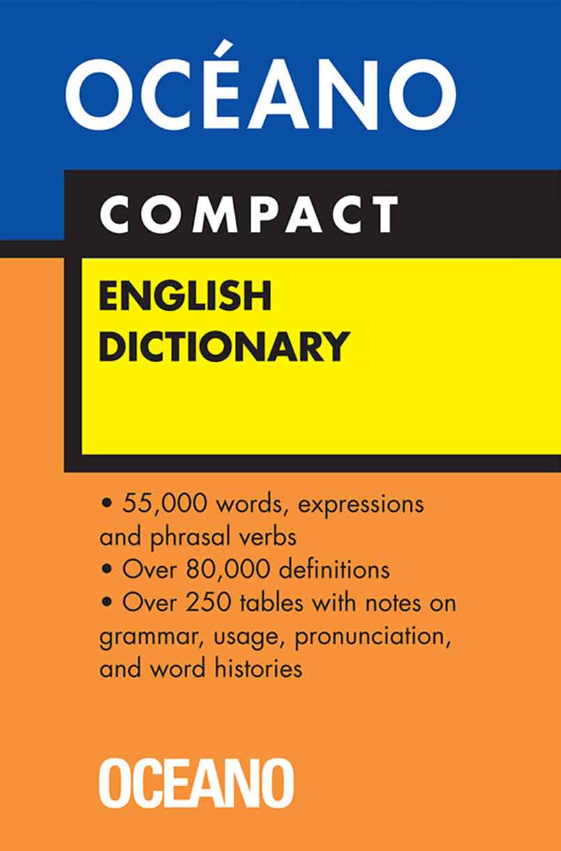 DICCIONARIO OCEANO ENGLISH DICTIONARY COMPACT