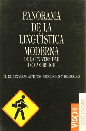 PANORAMA DE LA LINGUISTICA MODERNA III