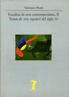 ESTUDIOS DE ARTE CONTEMPORANEO II