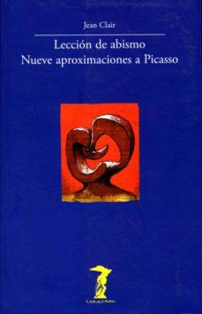 LECCION DE ABISMO, NUEVE APROXIMACIONES A PICASSO